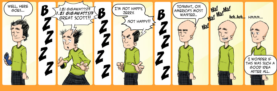 The Shave – (100th Strip)